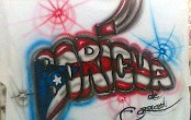 airbrush on tshirt