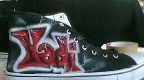 airbrushed shoes